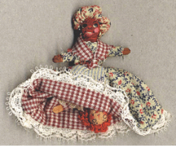 Minature Topsy-Turvy Folk Doll Kit by Melinda Small Paterson