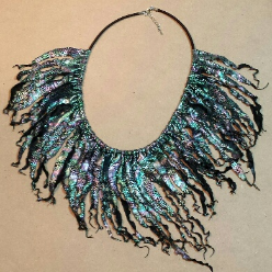 Pearly Waves Soft Necklace by Melinda Small Paterson