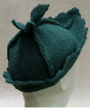 Green Leaf Elf Hat by Melinda Small Paterson