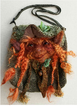 Felted Faerie Purse